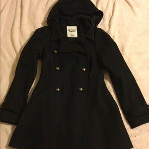 Bethany Mota Jackets & Coats - Dressy black pea coat